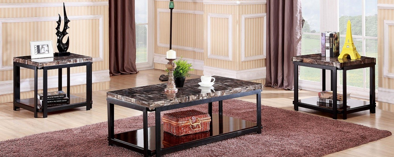 3 PCS COFFEE TABLE